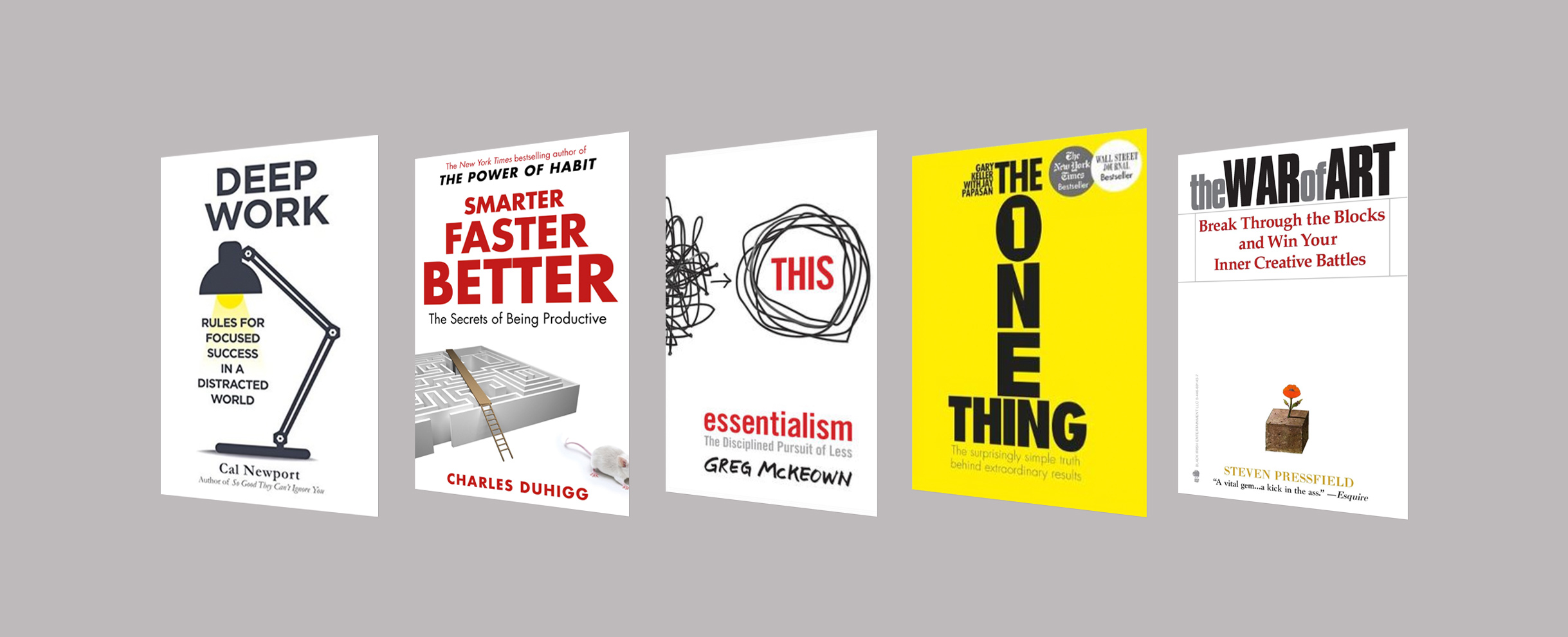 Productivity Smart Thinking Books